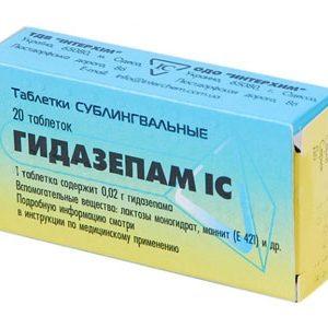 phenazepamum hipertenzija