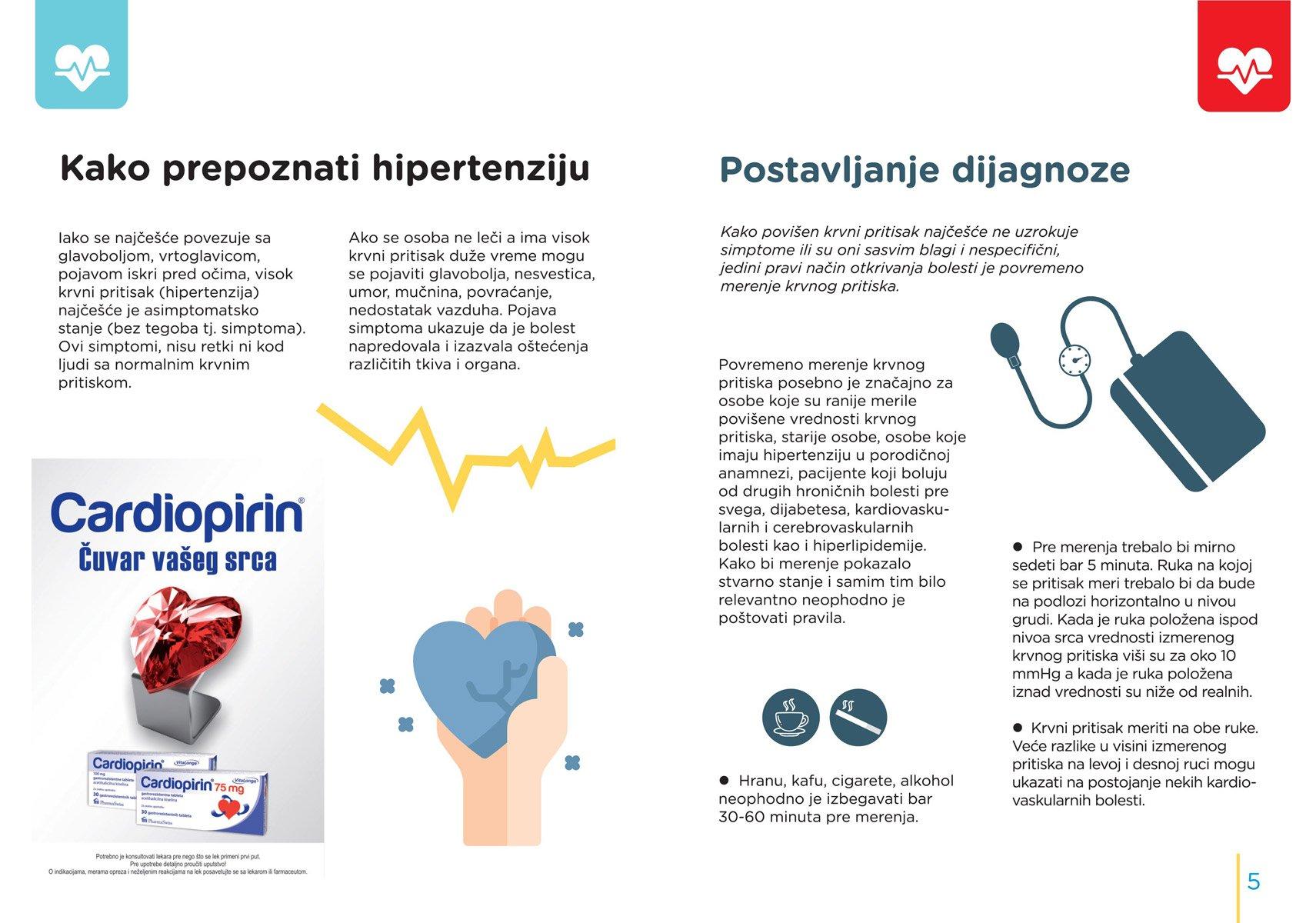 Hipertenzija kao komplikacija osnovne bolesti