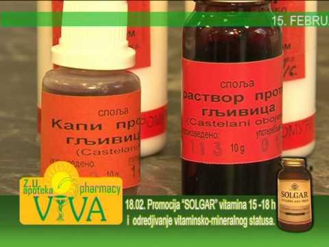 za liječenje hipertenzije badami