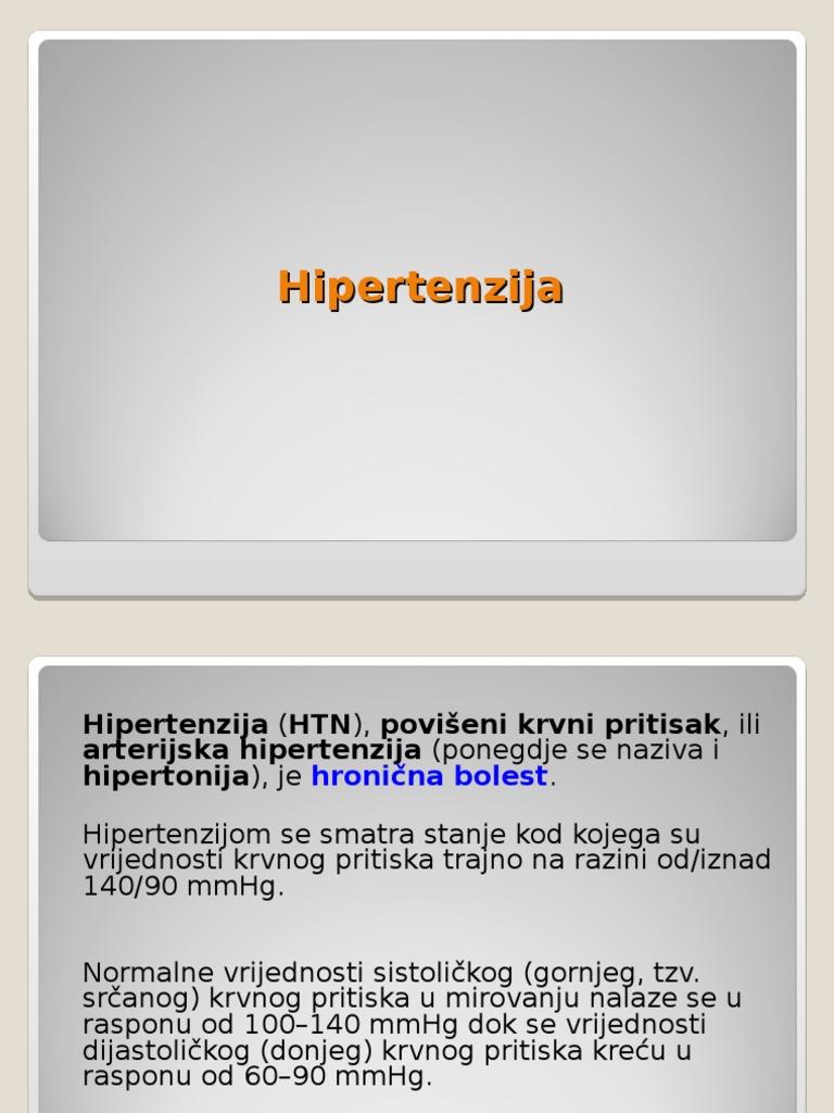 Proširene vene fundusa i hipertenzija