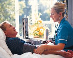 i ležati u bolnici zbog povišenog krvnog tlaka