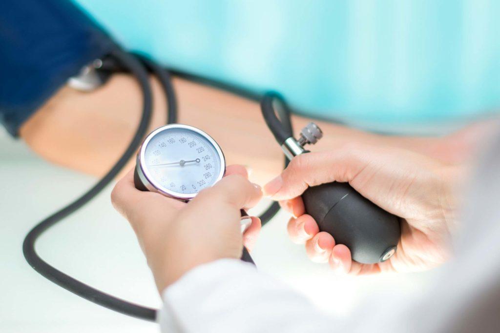 provjerite glavu za hipertenziju