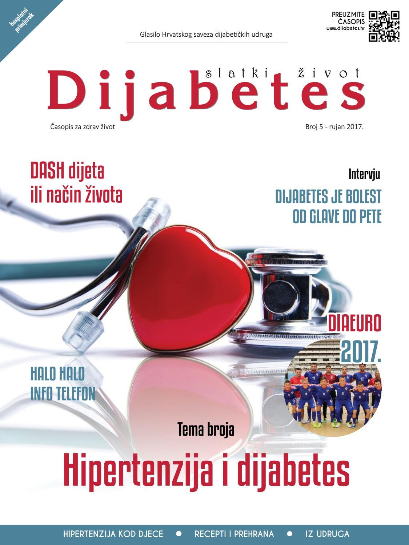šećer utječe hipertenzije