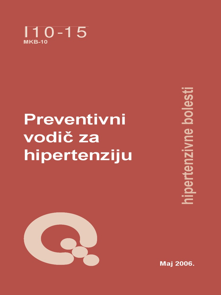 neurolog preporuke za hipertenziju