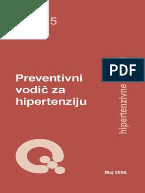 propisivanje za hipertenziju