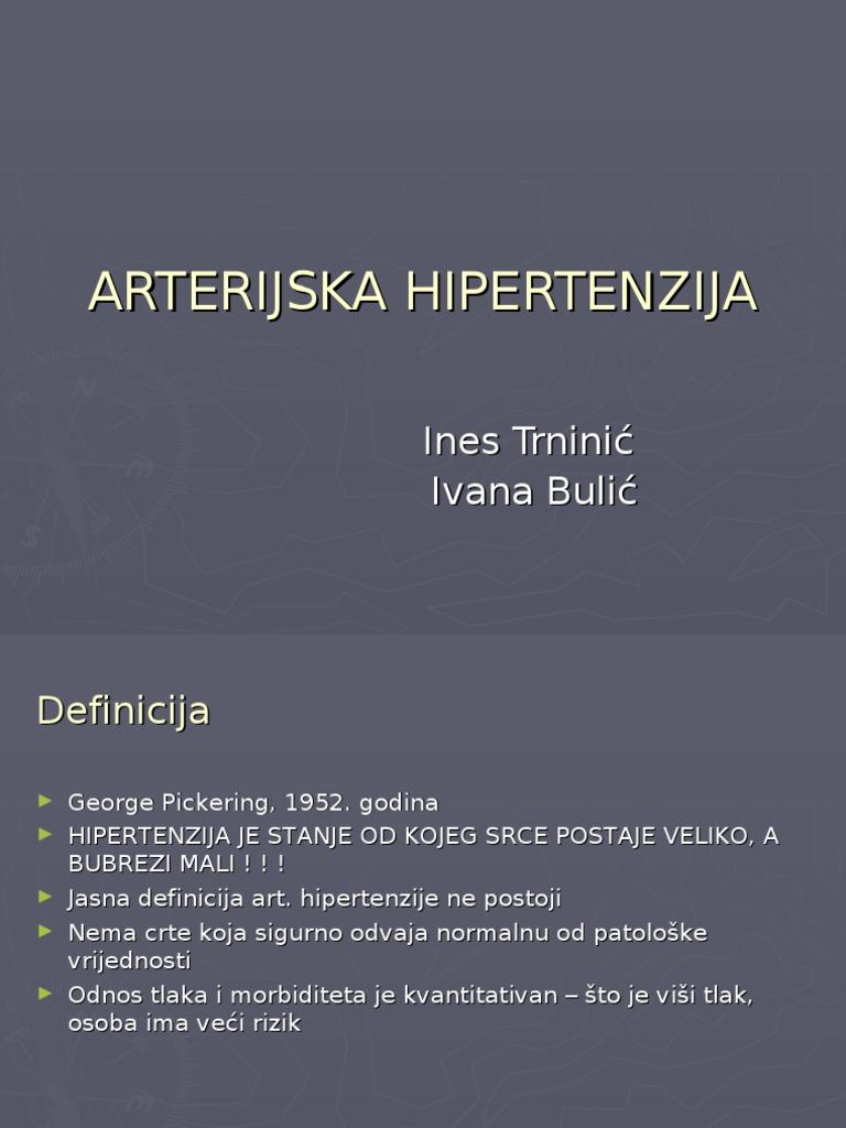 hipertenzija praktični rad 2 rizik hipertenzije faza
