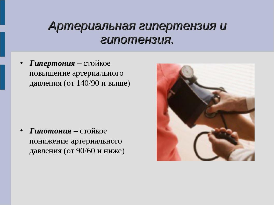 Hipotenzija - nizak krvni tlak