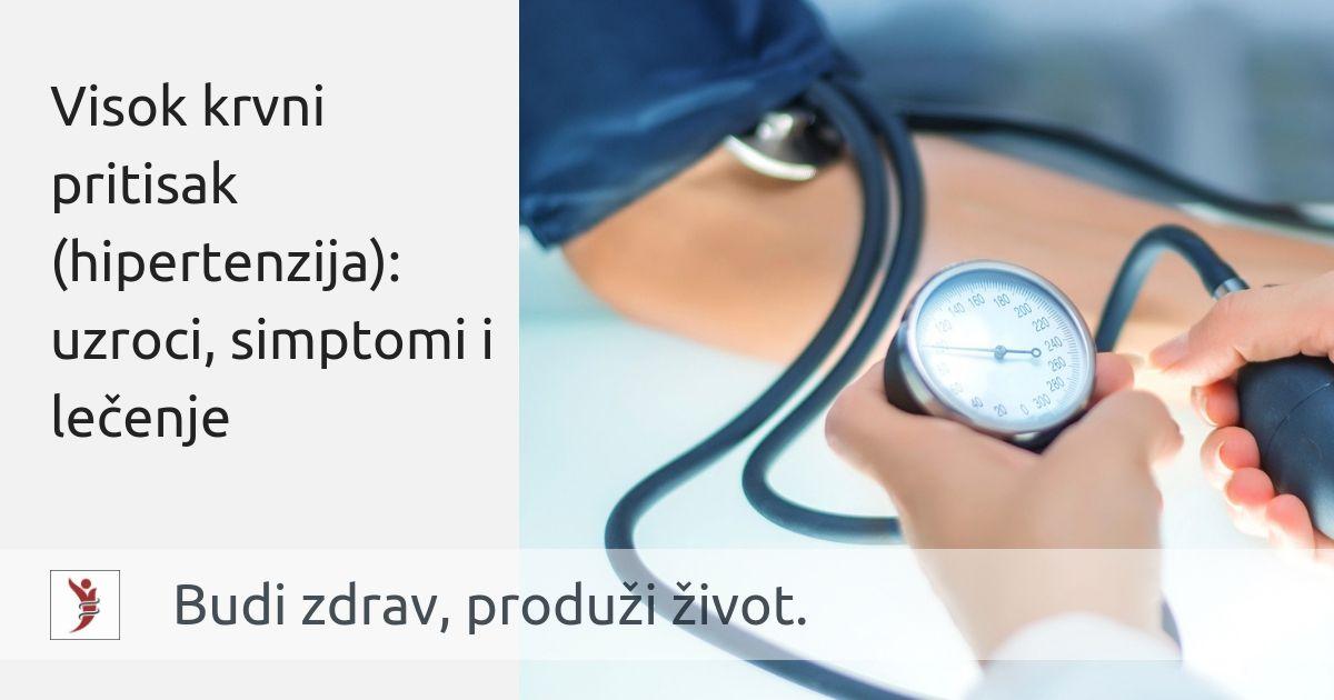 hipertenzija i hipertenzija da je to liječenje