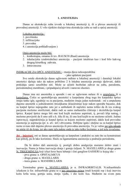 Sinkopa u stomatološkoj ambulanti: uloga medicinske sestre   Repozitorij Veleučilišta u Bjelovaru